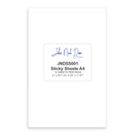 John Next Door Double Sided Sticky Sheets - A4 x15