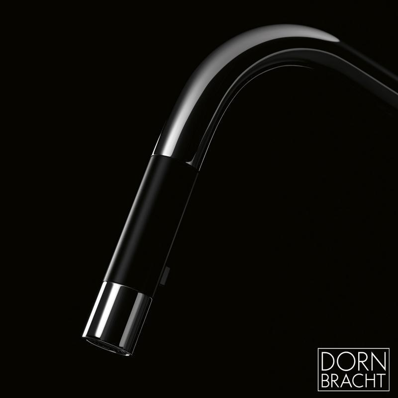 Dornbracht Sync 兩段出水可抽拉廚房龍頭 pull-down with spray single lever mixer 33875895, kitchen mixer, Dornbracht, 好德 Better Choice  德國好物 - 廚衛精品代購 德國代購