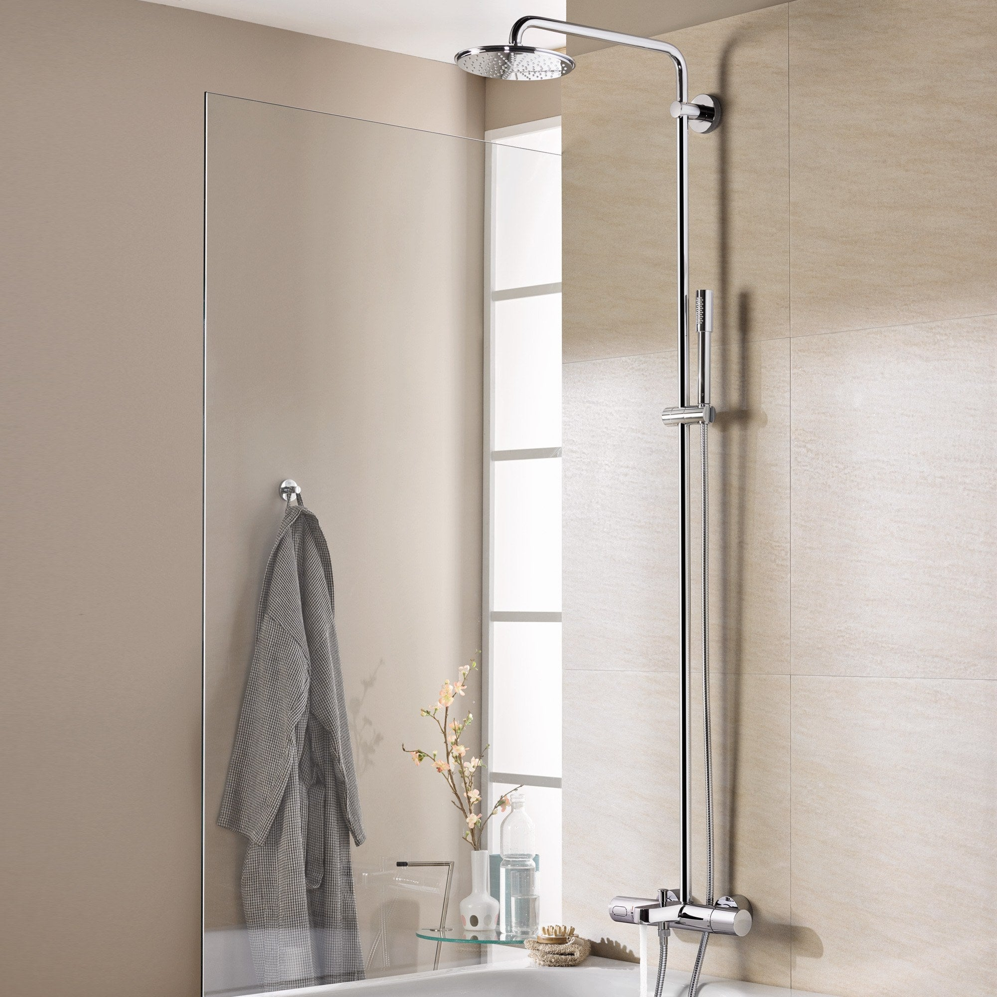 product system by usa taps from smartcontrol shower mixers en grohe b