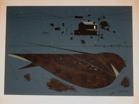 Charley Harper Ford Times Print Whipporwill