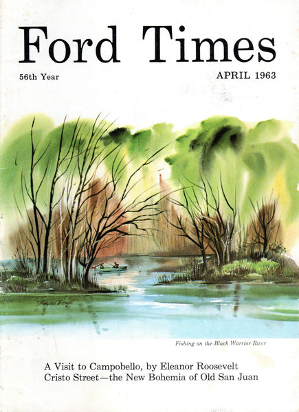 1963_04 April Ford Times Magazine - Charley Harper