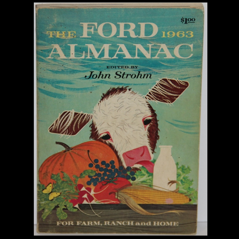 Charley Harper The Ford Almanac 1963