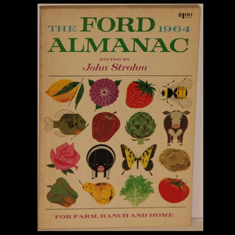 Charley HARPER The Ford Almanac 1964