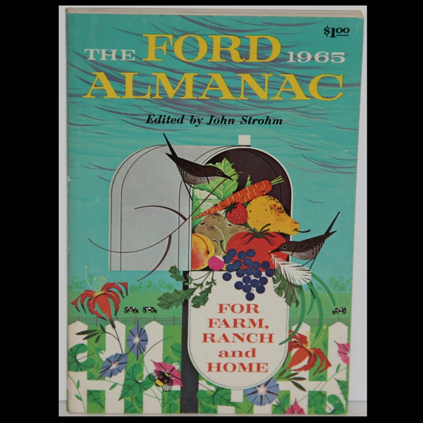 Charley Harper The Ford Almanac 1965