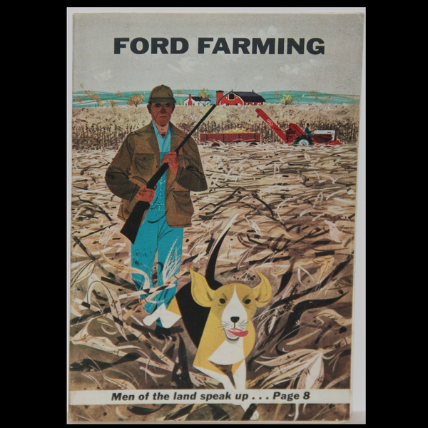 Charley Harper Ford Farming Fall 1956
