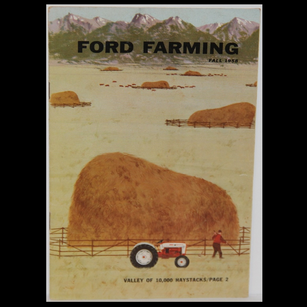 Charley Harper Ford Farming Fall 1958