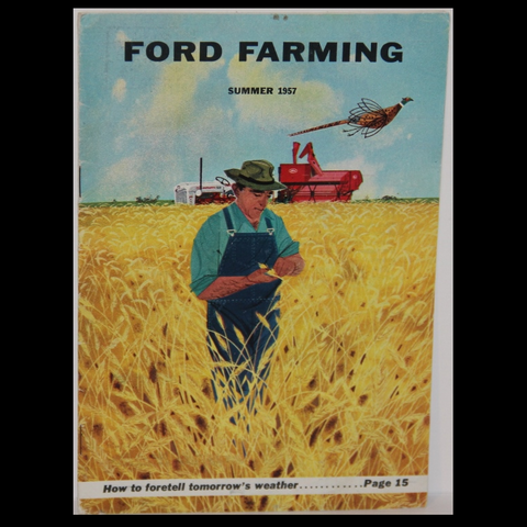 Charley Harper Ford Farming Summer 1957