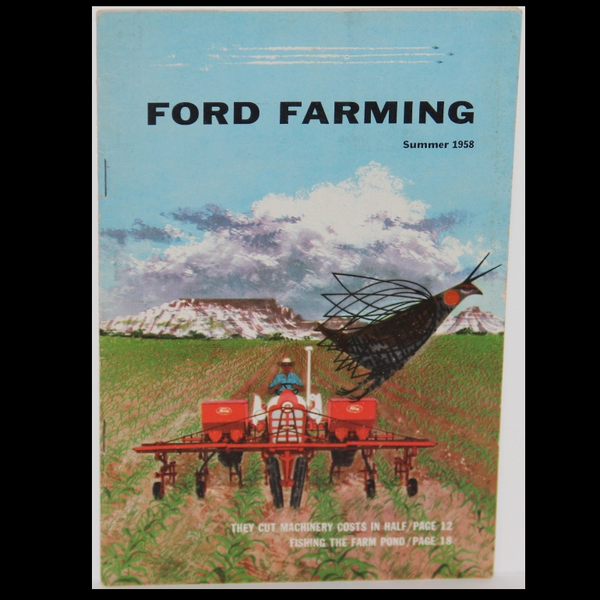 Charley Harper Ford Farming Summer 1958