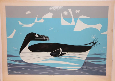 Charley Harper Ford Times Print Great Auk
