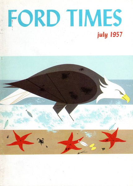 1957_07 July Ford Times Magazine - Charley Harper