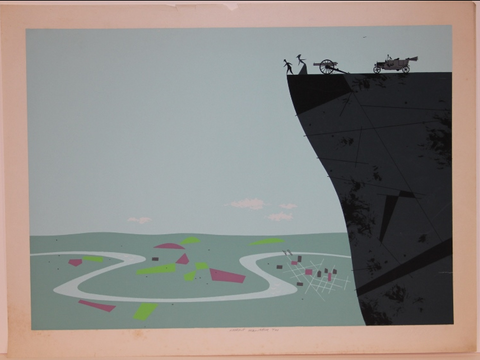Charley Harper Ford Times Print Lookout Mountain