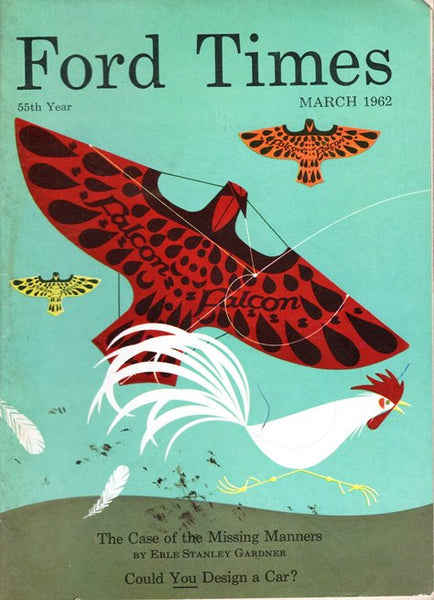 1962_03 March Ford Times Magazine - Charley Harper