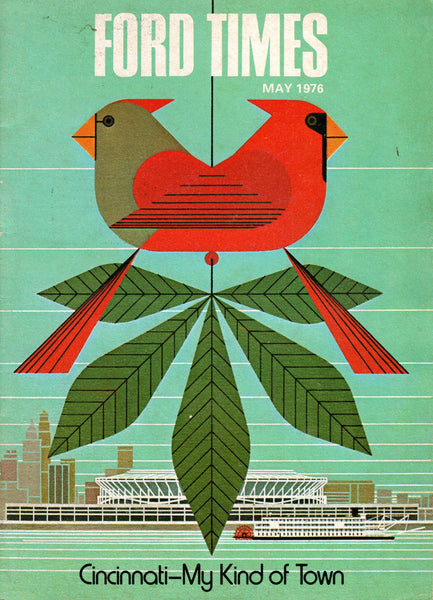 1976_05 May Ford Times Magazine - Charley Harper