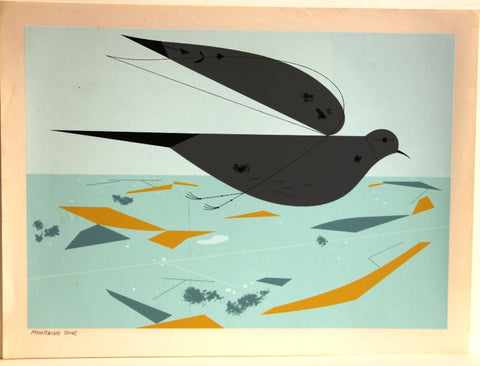 Charley Harper Ford Times Print Mourning Dove