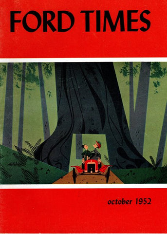 1952_10 October Ford Times Magazine - Charley Harper