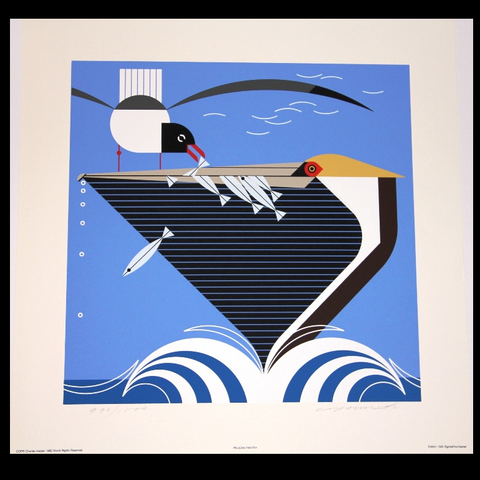 Pelican Pantry (Signed/Numbered) Charley Harper