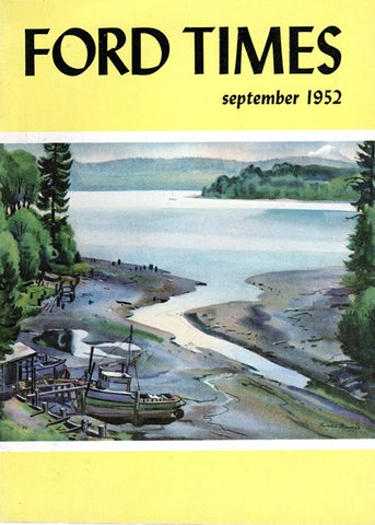 1952_09 September Ford Times Magazine - Charley Harper