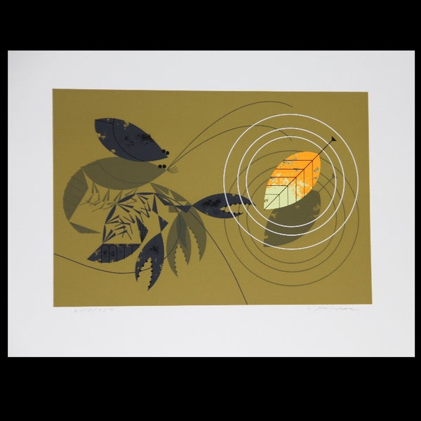Charley Harper Serigraph Print Unzipped Crayfish Molting