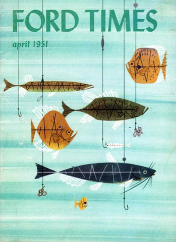 Charley Harper Ford Times Magazine 1951 April