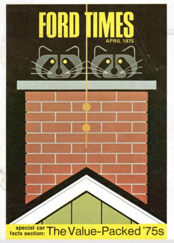 Charley Harper Ford Times 1975 April