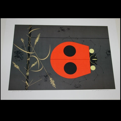 Charley Harper Lithograph Print Don't Bug Me