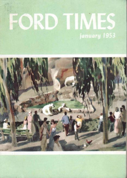 Charley Harper Ford Times Magazine 1953 January