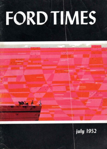 Charley Harper Ford Times Magazine 1952 July