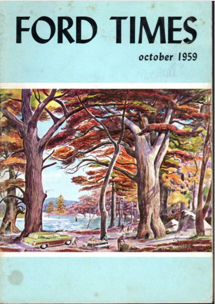 Charley Harper Ford Times Magazine 1959 October