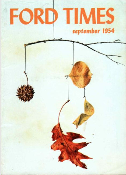 Charley Harper Ford Times Magazine 1954 September