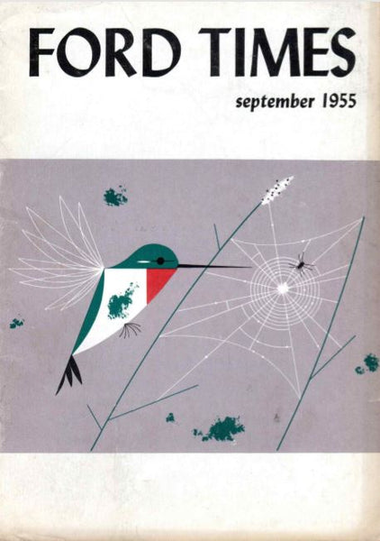 Charley Harper Ford Times Magazine 1955 September