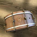 A & F 5.5x14 Raw Brass Snare drum kit A&F