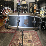 A & F 5x14 Raw Steel Snare 8 Lugs drum kit A&F