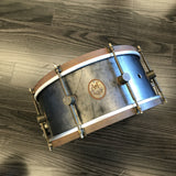 A & F 6.5x14 Raw Steel Snare drum kit A&F