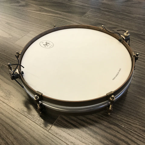 A & F Brass Pancake Snare drum kit A&F