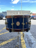 A&F 6.5 X 14 Chandler Blue Club Snare drum kit A&F