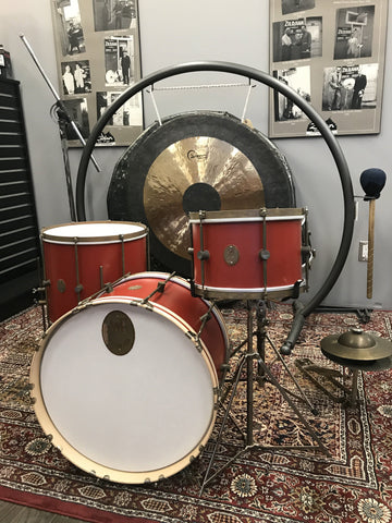 A&F Drum Company Club Kit in Red - New! drum kit A&F