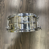 Dunnett 2N Stainless Steel Snare 6.5x14 - Used drum kit Dunnett