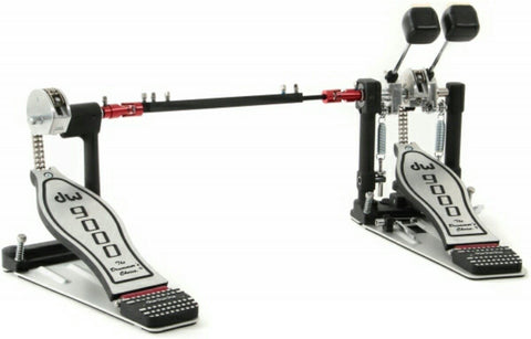 DW 9000 Series Double Pedal with Case drum kit DW