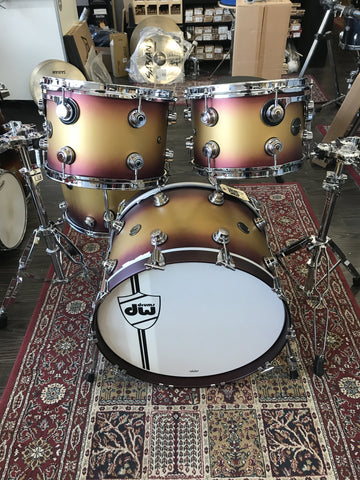 DW Classics Lacquer Custom 4pc - New drum kit DW