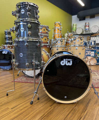 DW Collectors 10/12/14/20 Grey Oyster - New drum kit DW