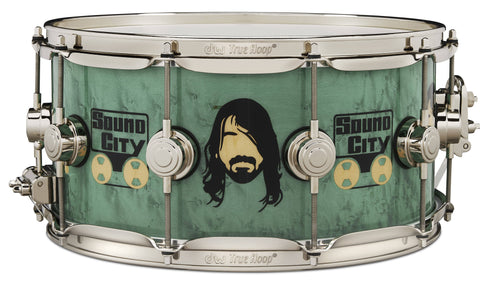 DW ICon Snare Dave Grohl 2020 - New Limited drum kit DW