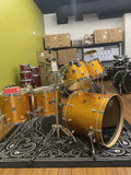 DW Performance Series Maple Shell 6 pc Set in Gold Sparkle - New drum kit DW