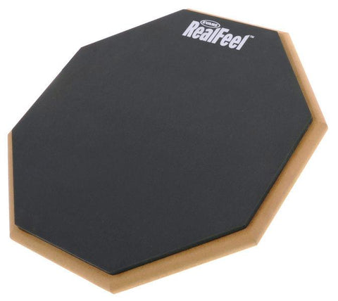 "Evans RealFeel Practice Pads pads Real feel 12"" double sided"