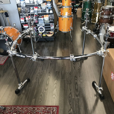 Gibraltar Chrome 3 Sided Rack - used drum kit Gibraltar