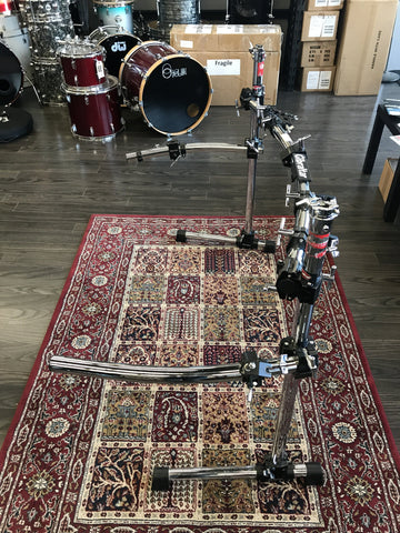 Gibraltar Curved Rack with Side Wings - used drum kit Gibraltar