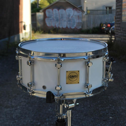 GMS Maple Snare Drum - used drum kit GMS
