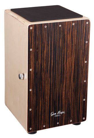 Gon Bops Fiesta Cajon Walnut - New drum kit Gon Bops