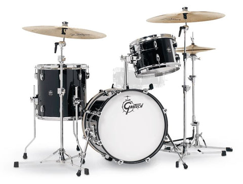 Gretsch Renown BeBop 3pc Set Piano Black drum kit Gretsch