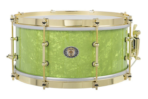Ludwig Classic Maple Emerald Pearl 110th Snare Drum drum kit Ludwig