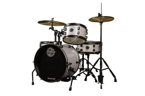 "Ludwig ""The Pocket Kit"" by Questlove drum kit Ludwig White Sparkle"
